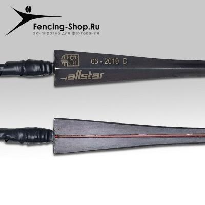 Клинок шпага BF мараген FIE черный Predator проклеенный французская ручка с наконечником ALLSTAR/UHLMANN - ШПАГА - Fencing Shop